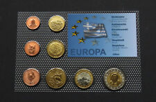 GREECE MOUNT ATHOS 2009 EURO SET COIN SPECIMEN PATTERN PROTOTYPE ESSAI RARE