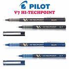 PILOT HI-TECH point STYLOS V7JAPANESE TECHNOLOGIE 0.7mm aiguille 4 diff Couleurs