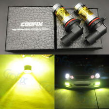 NEW 2x 9005 H10 9145 4000K Yellow 100W CREE Headlight Bulbs Kit LED Fog Light