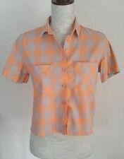Waist Regular Size Casual Topshop Tops & Shirts for Women