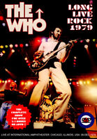 THE WHO LONG LIVE ROCK 1979 DVD SVD-025 THE PUNK AND THE GODFATHER ROCK BAND