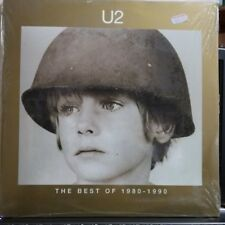 U2 - THE BEST OF 1980 - 1990 - 2 LP/ DOPPIO LP VINILE SIGILLATO - 1998 -