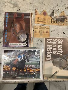 Smarty Jones 2004 Preakness Stakes Photo 8x10 And Other Collectibles. Enjoy