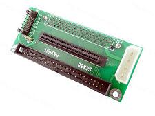 1Pcs SCA80 SCA 80 Pin To 68 50 Pin Ultra SCSI II / III Adapter