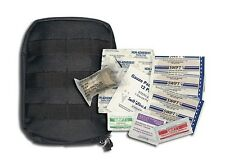 US ARMY USMC MILITARY CAMPING HIKING BLACK MOLLE SURVIVAL FIRST AID TRAUMA KIT