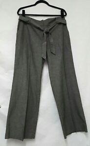 Women's F&F Grey Trousers Size 14 Standard Womens Trousers.