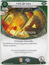 Arkham HORROR LCG - #054 Leo De Luca lvl1-base Set-Tedesco