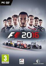 FORMULA 1 2016 F1 16 EN CASTELLANO ESPAÑOL NUEVO PRECINTADO PC