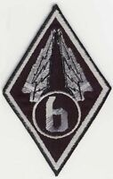 Starship Troopers Mobile Infantry Winged Diamond '6' Patch w/HOOK Backing