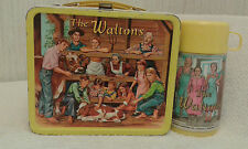 VINTAGE 1973 Metal THE WALTONS LUNCHBOX & THERMOS TV SHOW Series