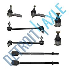 Inner Outer Tierods Sway Bar Ball Joints for 1998-2007 Ford Taurus Mercury Sable