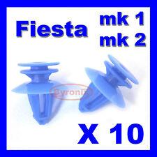 FORD FIESTA MK1 MK2 XR2 Scheda Porta Pannello Trim di plastica clip di fissaggio interni