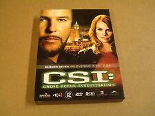 3-DISC DVD BOX / CSI:CRIME SCENE INVESTIGATION -SEIZOEN 7- AFLEVERING 7.13- 7.24