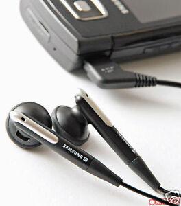Genuine Samsung Black Stereo Headphones / Earphones for J600 D900i U600 Z400