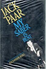 Jack Paar My Saber is Bent 1961 Tonight Show TV Humor Alexander King Intro Photo