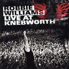 Live From Knebworth UK Version [PA] by Robbie Williams (CD)