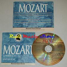 CD MOZART concerto k 466 sinfonia k 364 FRANCO CARACCIOLO CURCIO lp mc dvd