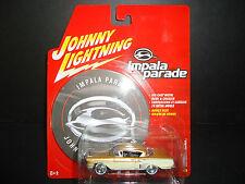Johnny Lightning Chevrolet Impala 1958 Bronze and Cream 1/64