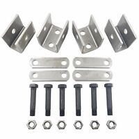 Libra Trailer Leaf Spring Hanger Kit for Double Eye Springs Tandem Axle Suspension