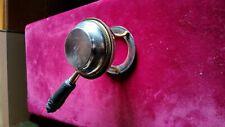 brûle parfum Guerlain Paris fin XIXème métal argenté bronze ébène
