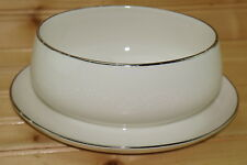 "Noritake Montblanc Gravy Boat with attached Underplate, 8 1/2"" x 7"""
