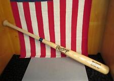 "Vintage Rawlings Adirondack Wood Baseball Bat Kevin Maas Pro Model 34"" Signed"