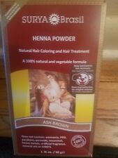 Surya Brasil Henna Powder, Color:ash brown,1.76 OZ, New, Have 2 boxes Available
