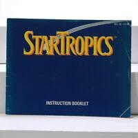 Nintendo NES Manual only -  Startropics