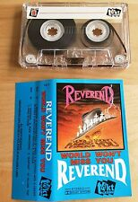REVEREND - World Won't Miss You MC RARE POLISH PRESS 1990