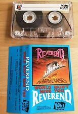 REVEREND - World Won't Miss You MC RARE POLISH PRESS 1990