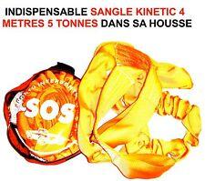 PRATIQUE SANGLE 4M 5T KINETIC + HOUSSE! CAMION DEPANNEUR PATROUILLEUR FENWICK