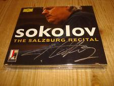 GRIGORY SOKOLOV The Salzburg Recital DGG 2CD 4794342 Signed Signiert