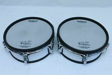 """TWO Roland PD-105 WT V Drum 10"""" Mesh Head PD105 VDrum for TD 125 120 20 30 10 9"""