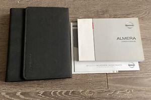 NISSAN ALMERA OWNERS MANUAL HANDBOOK & FOLDER WALLET BOOK PACK SET N16 2000-2006