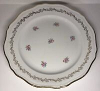 Plat À Gâteau Tarte ... En Demi Porcelaine L'amandinoise France D 30 Cm