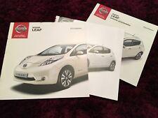 Nissan Leaf Brochure set 2013 - UK Issue