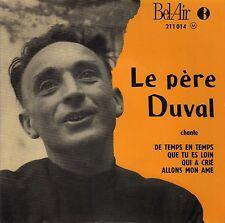 LE PERE DUVAL DE TEMPS EN TEMPS FRENCH ORIG EP