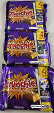 3x Cadbury Crunchie Chocolate 4 Pack 128g x 3
