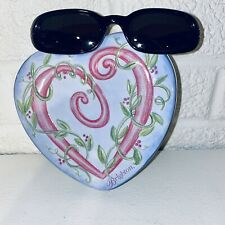 Vintage Brighton Flower Drum Song Women's Sunglasses Black Frame & Lenses NWOT