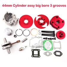 44mm Big Bore Cylinder Kit 2 Stroke 47cc 49cc Engine Pocket Bike Mini Dirt ATV