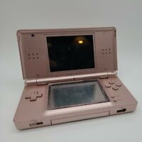 Nintendo DS Lite Coral Pink Console USG-001 Powers On With Issues  A-001