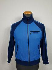 Vintage Adidas Originals Zip Track Top Jacket Windbreaker Blue 80's Yugoslavia M