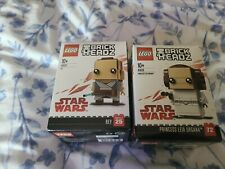 Lego BrickHeadz 41628  Princess Leia Organa - 41602 Ray - Brand new & sealed