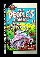 THE PEOPLE'S COMICS, 1994, DEATH OF FRITZ THE CAT, ROBERT CRUMB, 25TH YEAR ANNIV