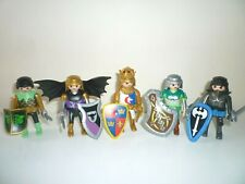 Playmobil Knights King and Winged Knight with Weapons