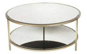 Polly Mirrored Coffee Table