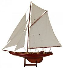 Batela Holz Modell Segelyacht Columbia Red - 126cm