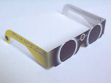 1 PAIR SOLAR ECLIPSE VIEWER GLASSES NEW, CE APPROVED, FREE FIRST CLASS POST