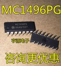 10PCS MC1496 MC1496PG DIP-14 BALANCED MODULATORS/DEMODULATORS