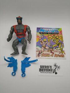 Vintage Stratos Masters of the Universe MOTU He-Man comic Broken Blue Wings 0034